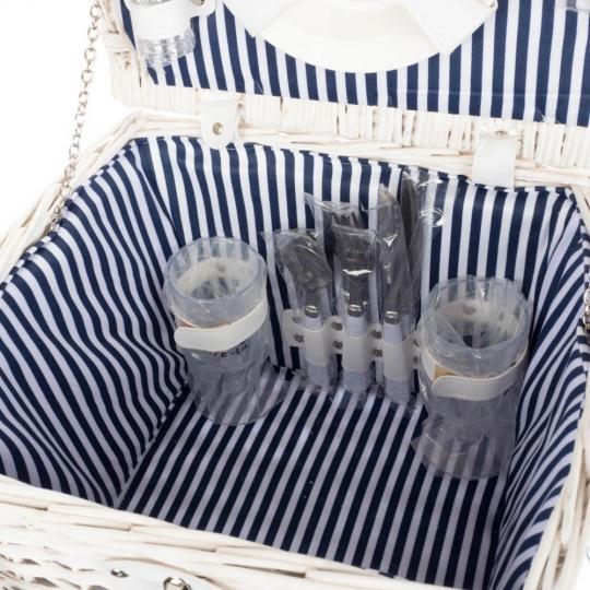 Корзинка для пикника (30*24*25 см) 2 персоны