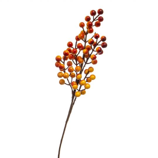 Веточка с ягодами оранжевая (5000-003/ORANGE)