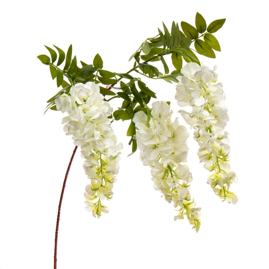 """Цветок искусственный """"Акация белая"""" (8100-033)"""