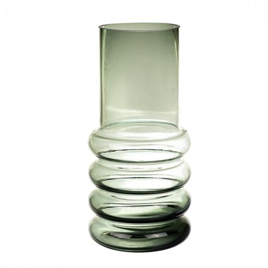 "Стеклянная ваза ""Тень на песке"" 30 см (8426-002)"