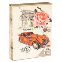 """Фотоальбом """"Вдохновение"""" Оранжевый цвет, 200 фото, 13х18 см"""