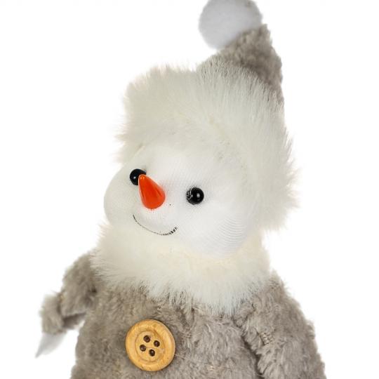 """Фигурка """"Снеговик серый бумбон"""" (013NM)"""