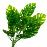 Ветвь монстеры зелёная искусственная (8408-065)
