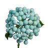 Искусственная ветка с ягодами, голубая (8412-002)
