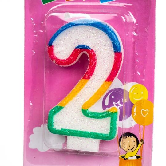 """Свечи для торта """"Цифры"""" ( от 0 до 9) (8133-017)"""