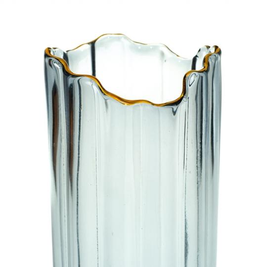 """Стеклянная ваза """"Туман"""", 30 см. (8605-041)"""