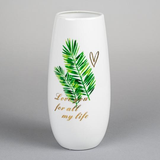 """Керамическая ваза """"Райский уголок"""" 25 см (8413-023)"""