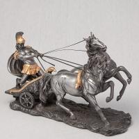 """Статуэтка """"Римский воин на колеснице"""" (17 см)"""