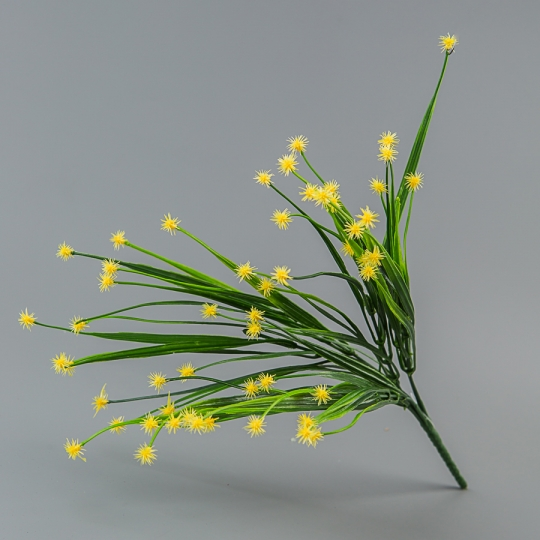 Искусственный букет (36 см) (022FL/yellow)