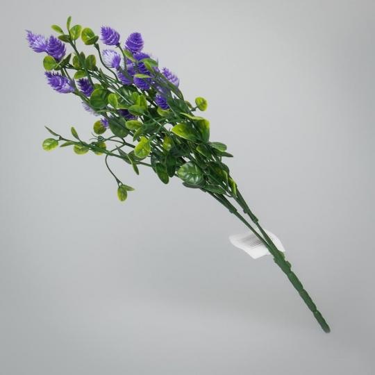 Искусственный букет (34 см) (032FL/violet)