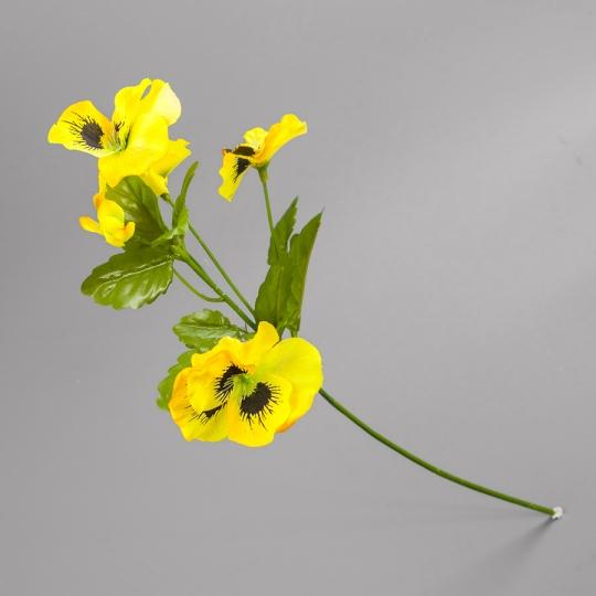 Анютины глазки (43 см) (044F/yellow)