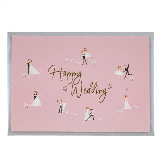 """Серия открыток """"Happy wedding"""" (8128-009)"""