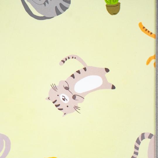 """Блокнот """"Игривые котики"""" 4 вида (клетка) (8129-001)"""