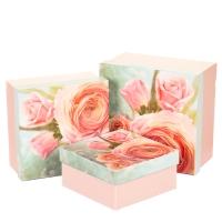 """Набор коробок """"Цветущая роза"""""""