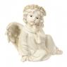 Ангел задумчивый, светящийся  12*9*16.6 (6000-004AN)