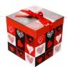 """Коробка подарочная """"Влюбленность"""" (22*22см) (0343JH)"""