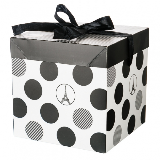 """Коробка подарочная """"Геометрия"""" (15*15см) (0348JH)"""