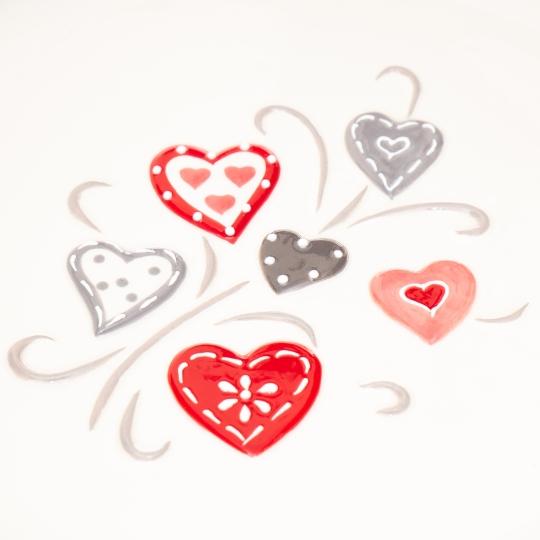"Тарелка десертная 20 см ""Love"" (013AV)"