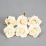 Головка розы 4 см. *рандомный выбор цвета (8503-009)