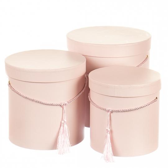 """Набор коробок """"Изящность"""" (pink)"""