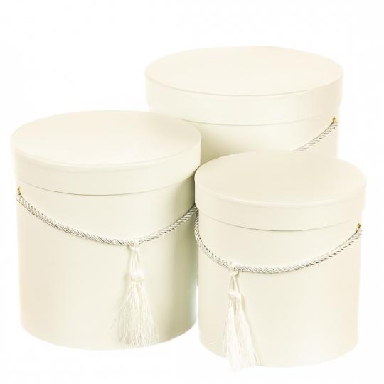 "Набор коробок ""Изящность"" (white) (012YA-wh)"