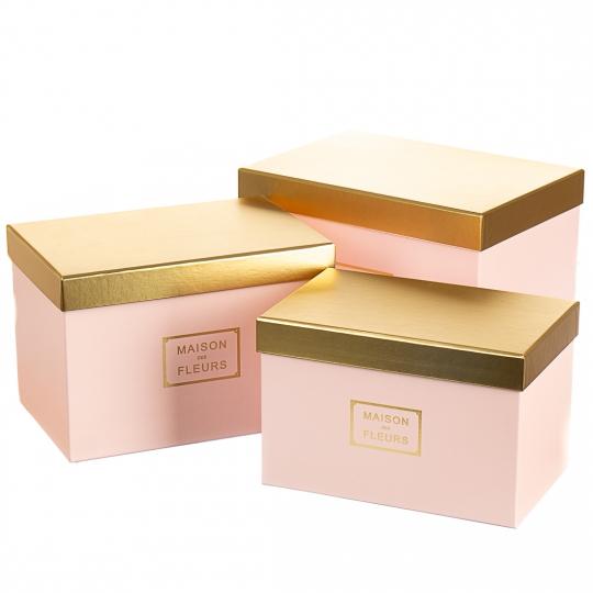 """Набор коробок """"Элегантность"""" (pink)"""