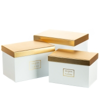 "Набор коробок ""Элегантность"" (white)"