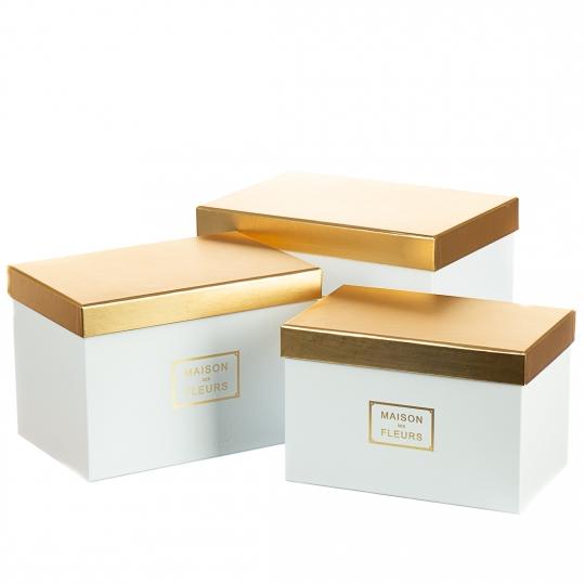 """Набор коробок """"Элегантность"""" (white) (014YA-wh)"""