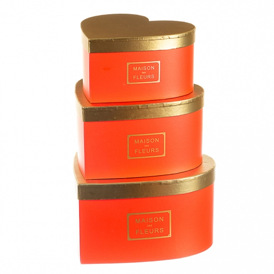 "Набор коробок ""Признание"" (red)"