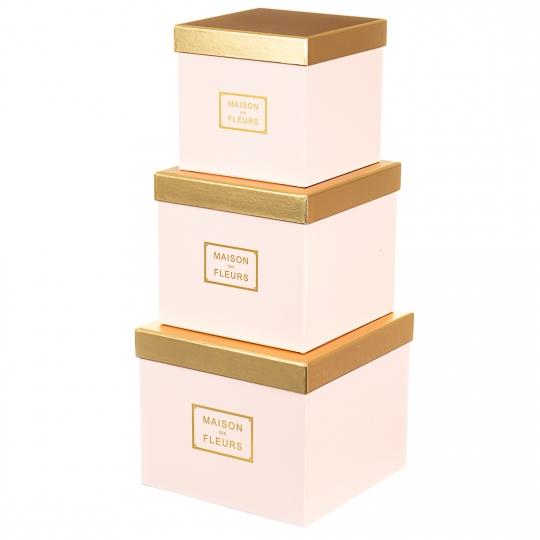 "Набор коробок ""Классика"" (pink) (016YA-pk)"