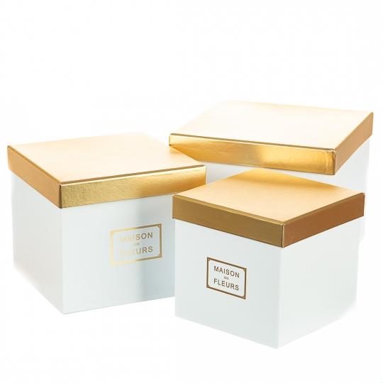 """Набор коробок """"Классика"""" (white) (016YA-wh)"""