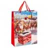 """Подарочный пакет """"Санта на крыше"""" (8011-018)"""