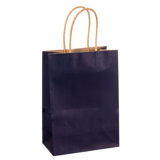 Крафтовый пакет синий (8017-003)