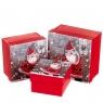 """Набор подарочных коробок """"Весёлый Санта"""" 3 шт. маленькие (8013-001)"""