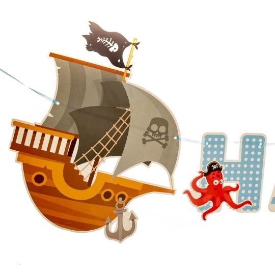 """Гирлянда """"Пиратская вечеринка"""" (8027-010)"""
