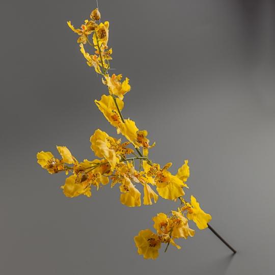 Орхидея (силикон, 70 см) (115F/yellow)