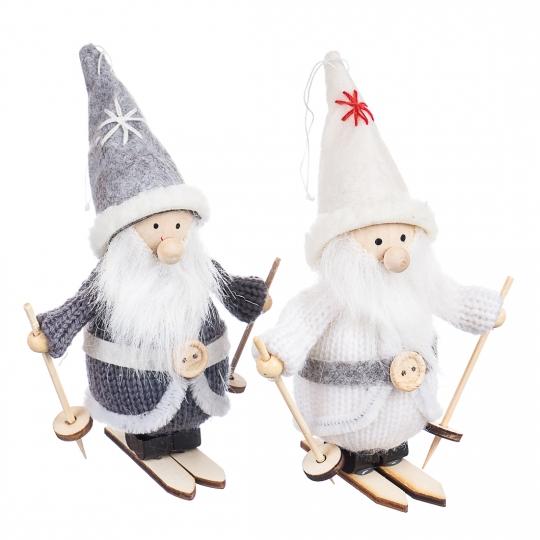 """Набор игрушек  (2 шт) """"Зимние друзья"""" (серый костюм) (0240JA-A)"""