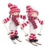 """Набор игрушек (2 шт) """"Девчата-лыжницы"""" (0242JA)"""