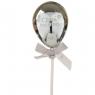 Топпер Шарик серебро (8132-001)