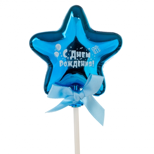 Топпер Шарик в форме звезды индиго (8132-012)