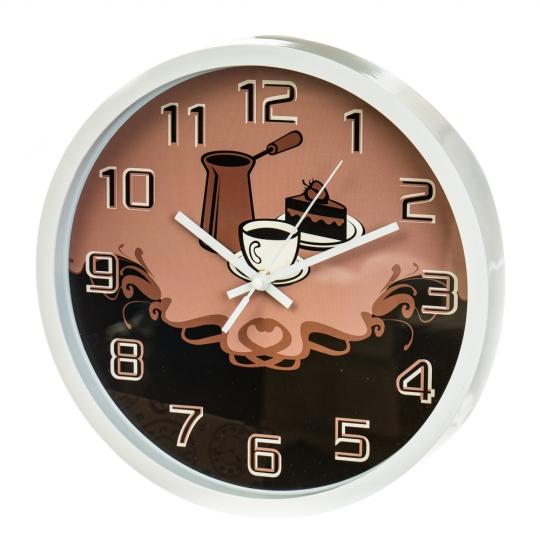 """Часы """"Кофемания"""" (30см) (2003-010)"""