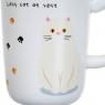 """Кружка """"Cat""""  300 мл. рандомный выбор дизайна (8205-002)"""