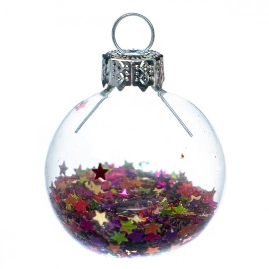 """Елочный шар """"Разноцветные мечты"""" (6000-025)"""