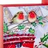 """Набор из 3 коробок """"Зимние птички""""   28*28*11 (8211-055)"""
