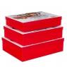 "Набор из 3 коробок ""Новогодний мишка""   39*30*11 (8211-059)"
