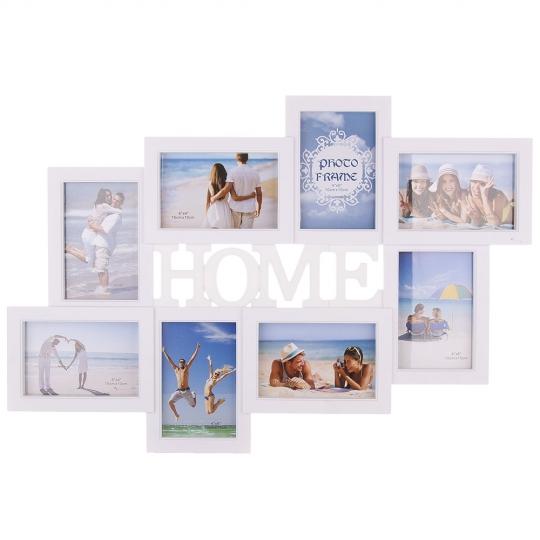 """Фотоколлаж """"Home"""" 43*63*2,5 (2004-015)"""