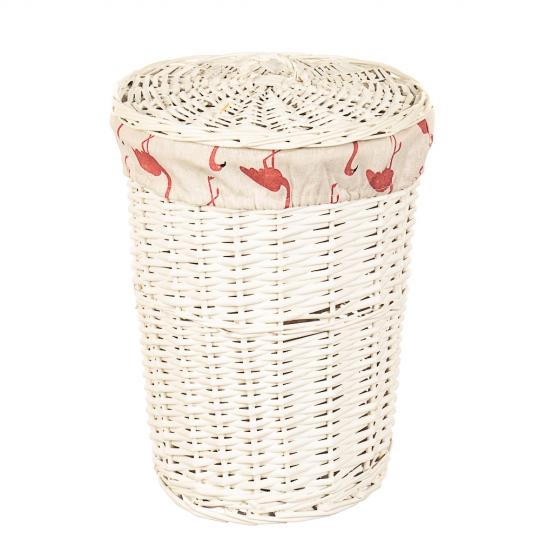 """Набор корзин для белья """"Фламинго"""" 3 шт. (058PV)"""