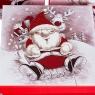 """Набор из 3 коробок """"Санта и Рудольф"""" 20*20*9,5 (8211-003)"""
