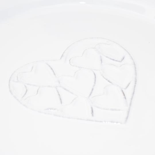 """Тарелка  24,5 см """"Сердца"""" (011AS)"""
