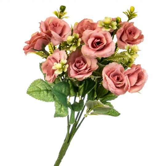 """Цветочный букет """"Розовый кварц"""" (8023-004pink)"""